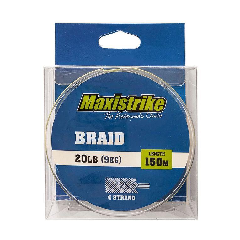 Maxistrike Braid 20lb 150m, , hi-res