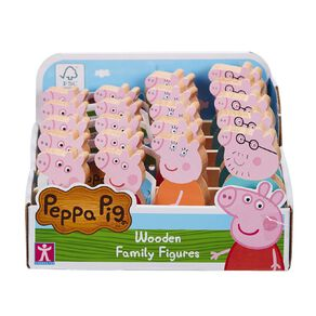 Peppa Pig Wooden Play Family Figure Pack