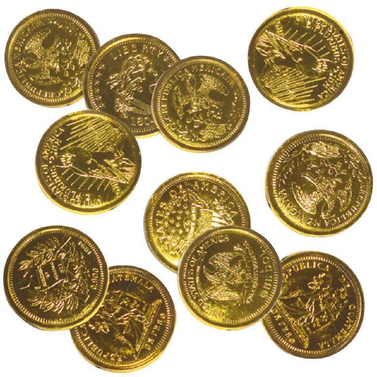 Artwrap Gold Coins Party Favours 16 Pack, , hi-res