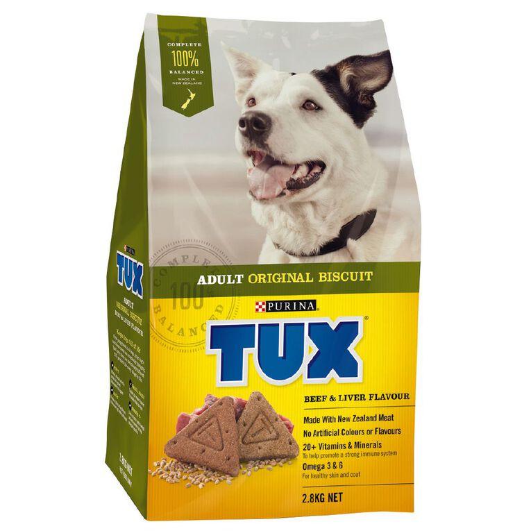 TUX Adult Beef & Liver Dry Dog Food 2.8kg, , hi-res