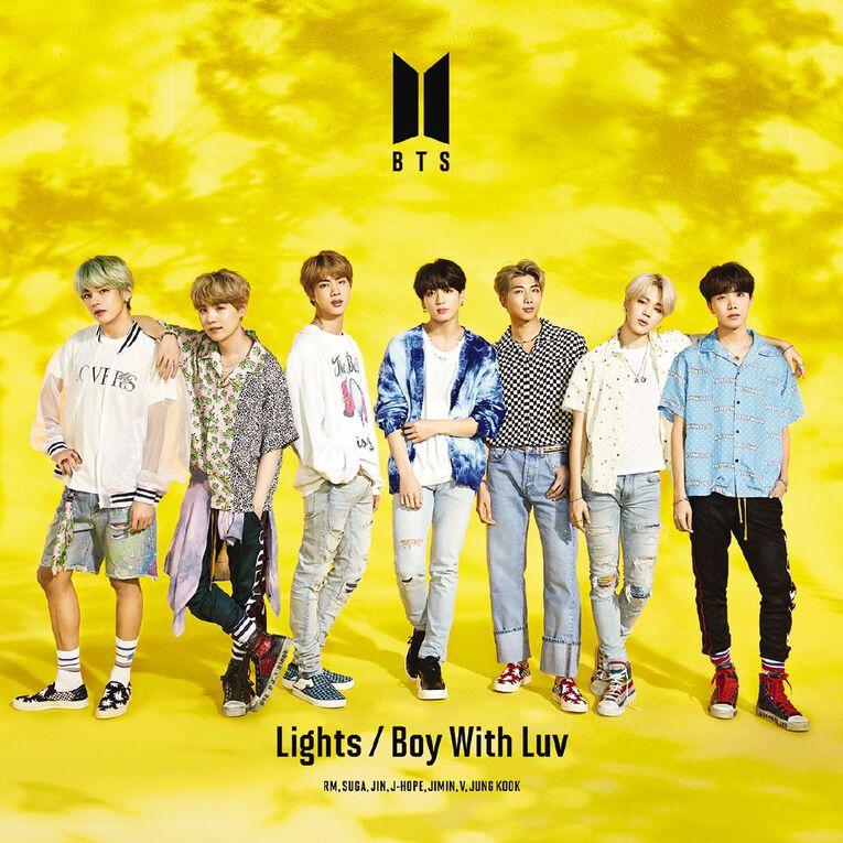 Lights LTD A CD/DVD by BTS 2Disc, , hi-res