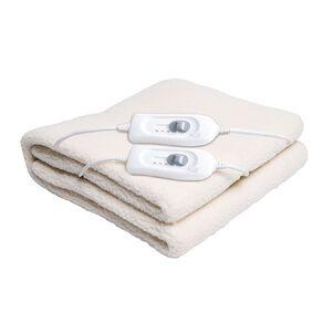 Living & Co Electric Blanket Fleecy King 165 x 203 x 50cm King