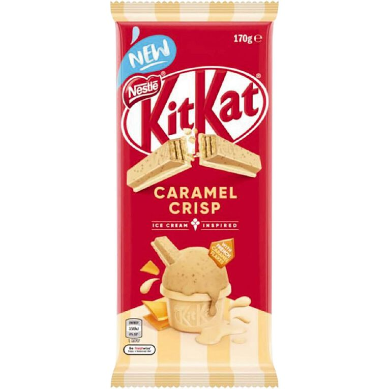 KitKat Caramel Crisp Block 170g, , hi-res