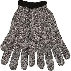 Rivet Stripe Fleck Full Finger Gloves