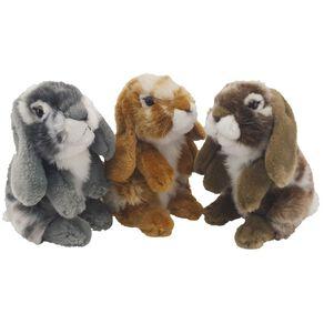Antics Nibbles Brown/Grey Rabbits Assorted 18cm