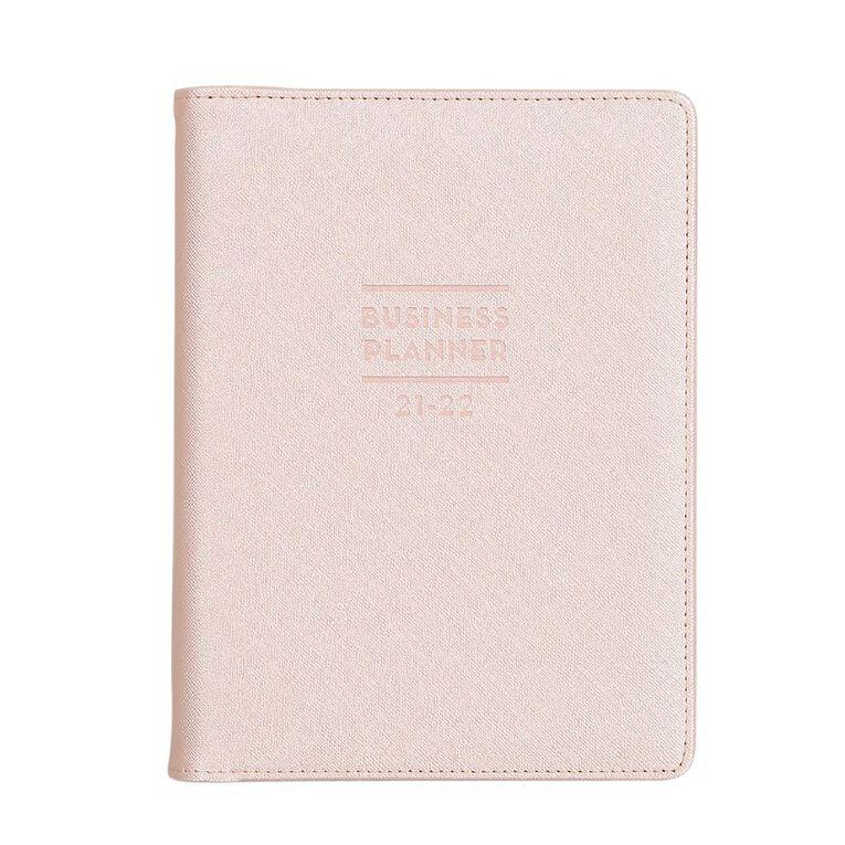 Modena Mid Year 2021/22 Business Goal Planner Medium Pink, , hi-res