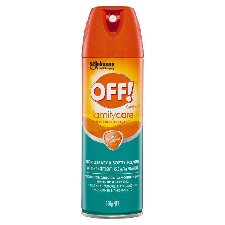 Off! Off Skintastic Repellent Aerosol 150g, , hi-res