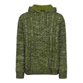 H&H Men's Pullover Hood Lined Jumper