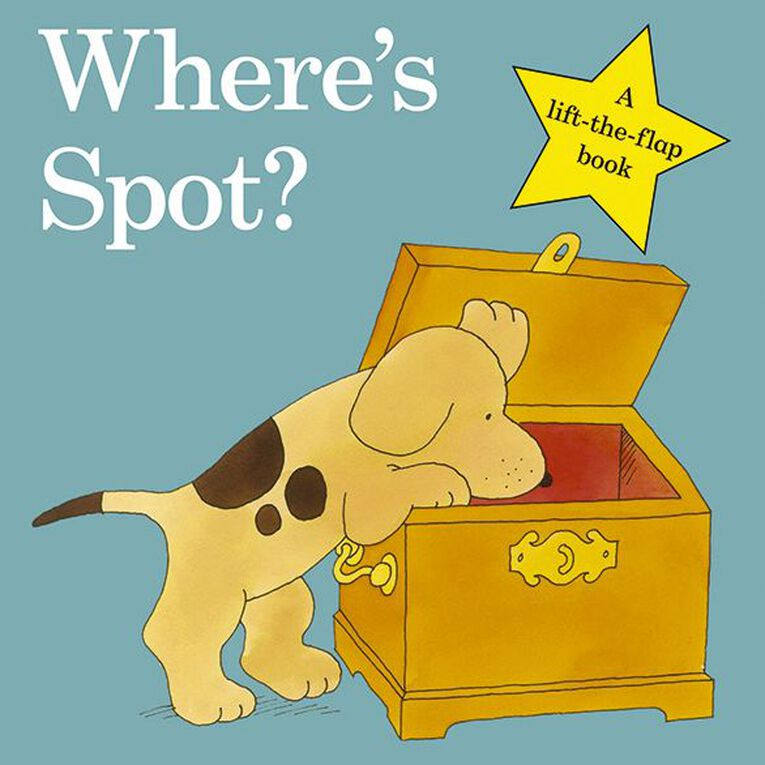 Where's Spot? by Eric Hill, , hi-res