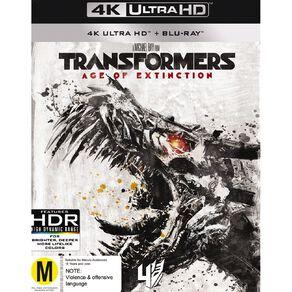 Transformers 4 4K Blu-ray 2Disc