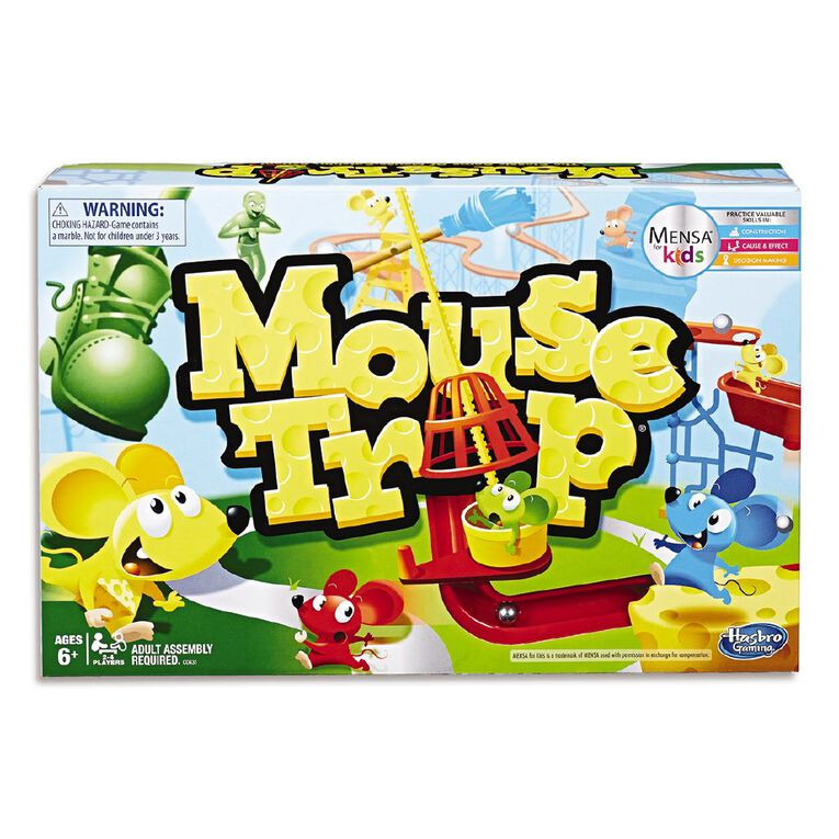 Elefun and Friends Mousetrap Classic Game, , hi-res