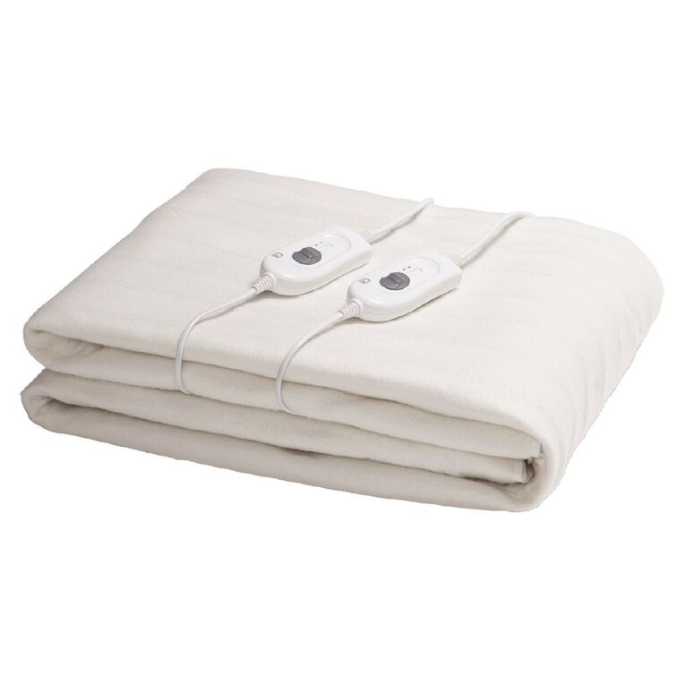 Living & Co Electric Blanket Fitted Double 139 x 187 x 50cm, , hi-res
