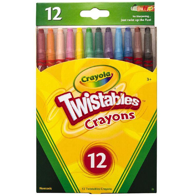 Crayola Twistable Crayons 12 Pack, , hi-res