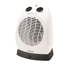 Living & Co Upright Fan Heater with Oscillation 2000W