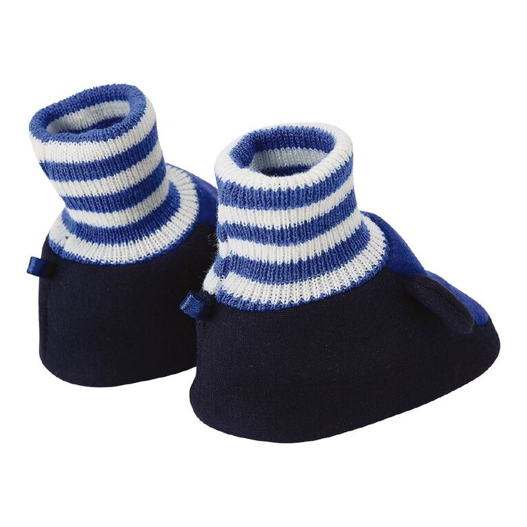 Young Original Infants' Snuggle Shoes, Blue Light, hi-res