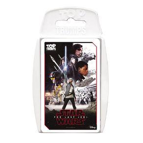 Star Wars The Last Jedi Top Trumps Game