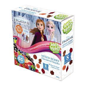 Disney Frozen II Iddy Biddy Fruit Snacks 8 Snack Packs 160g