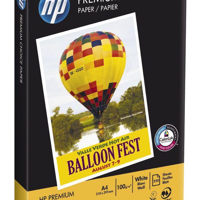 HP Premium 100gsm 250 Sheets FSC Colorlok, , hi-res