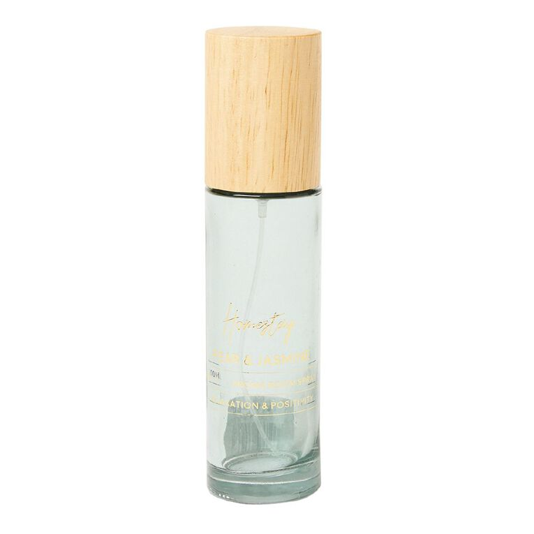 Living & Co Homestay Roomspray Pear and Jasmine Green 100ml, Green, hi-res