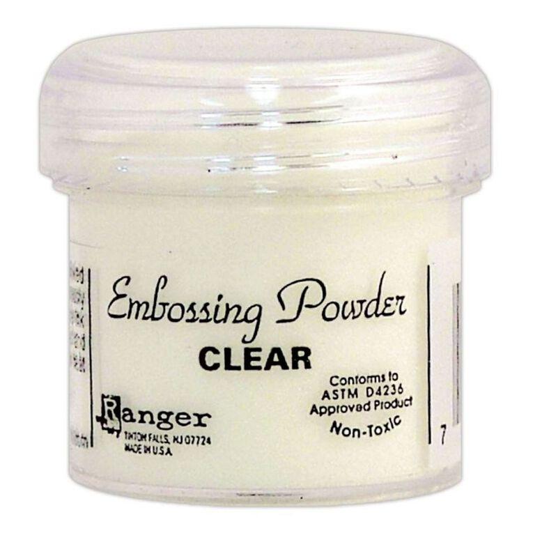 Ranger Embossing Powder Clear, , hi-res