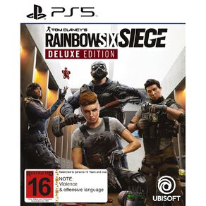 PS5 Rainbow Six Siege Deluxe Edition