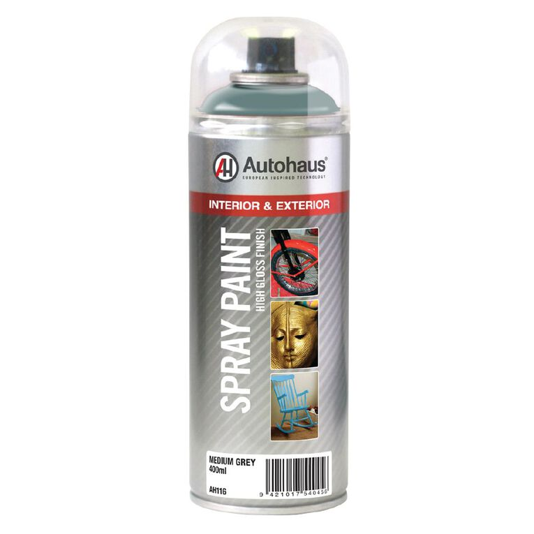 Autohaus Spray Paint Grey Mid 400ml, , hi-res