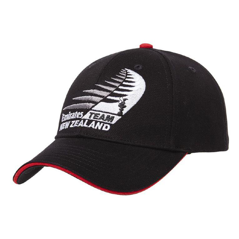 Team Nz Unisex America's Cup Cap, Black, hi-res