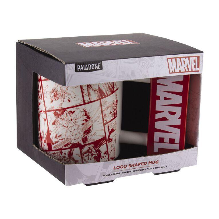 Paladone Marvel Logo Shaped Mug, , hi-res