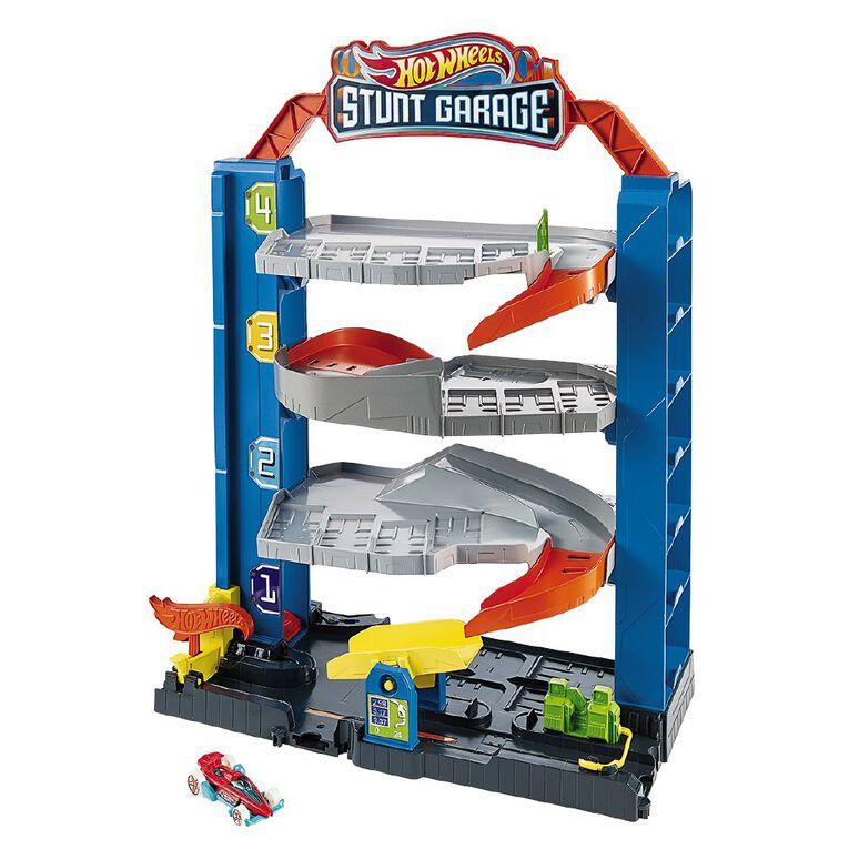 Hot Wheels City Stunt Garage, , hi-res