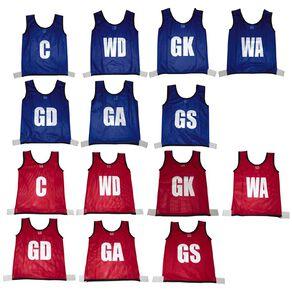 Active Intent Sports Netball Bibs 14 Pack