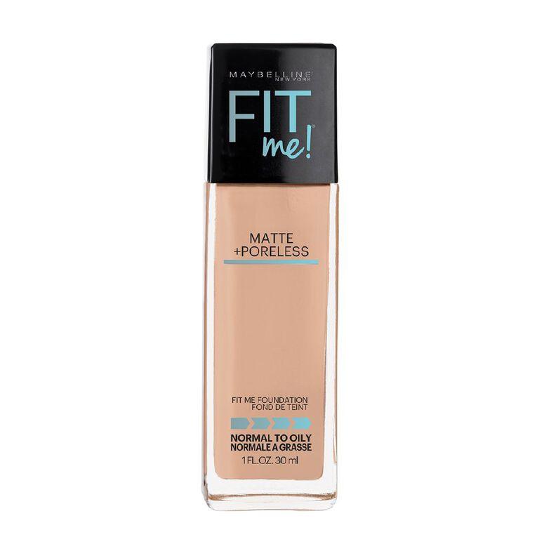 Maybelline Fit Me Matte & Poreless Liquid Foundation - Rich Tan 238, , hi-res