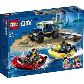 LEGO City Elite Police Boat Transport 60272