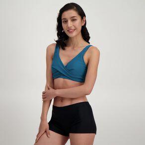 H&H Swim Women's Wrap Front Full Cup Bikini Top