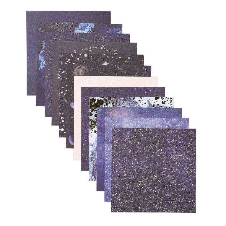 Uniti Cosmic Paper Pad 24 Sheets 6in x 6in, , hi-res