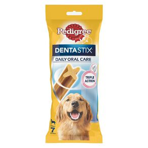 Pedigree Dentastix Dog Treats Daily Oral Care Large Dog 7 Sticks