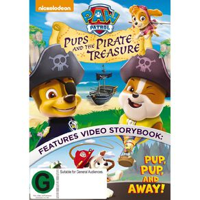 Paw Patrol Pups and the Pirate Treasure DVD 1Disc