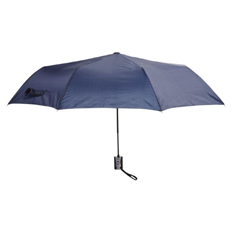 H&H Women's Mini Fashion Umbrella, Navy NEW WNT21, hi-res