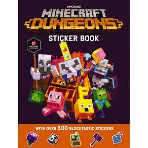 Minecraft: Dungeons Sticker Book