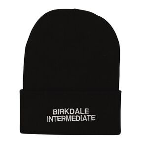 Schooltex Birkdale Intermediate Beanie with Embroidery