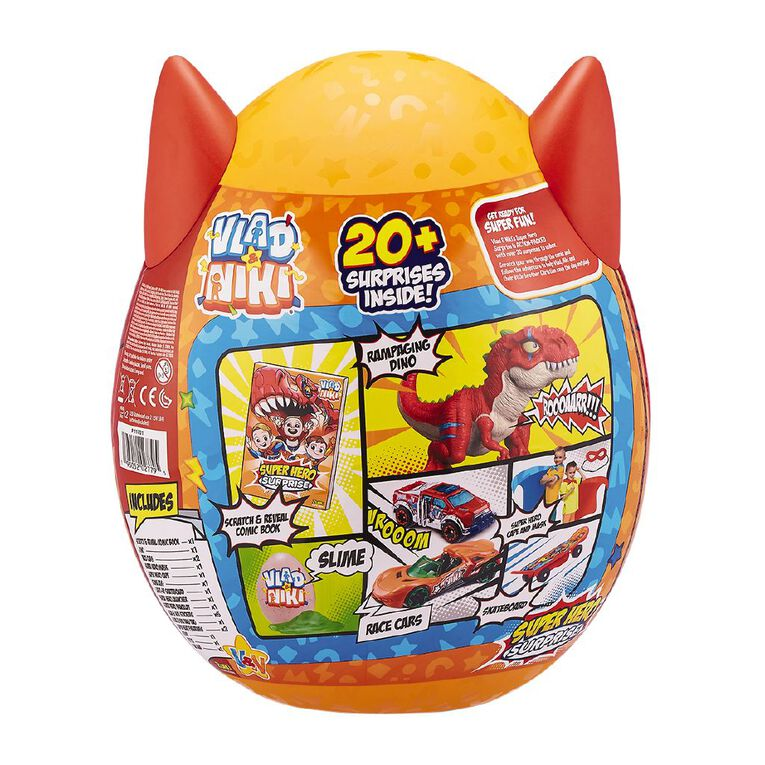 Zuru Vlad & Niki Superhero Suprise Egg - Series 1 Assorted, , hi-res