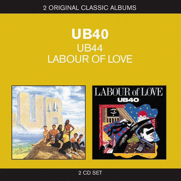 2 for 1 UB40/Labour of Love CD by UB40 2Disc, , hi-res