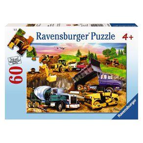 Ravensburger Construction Crowd Puzzle 60 Piece