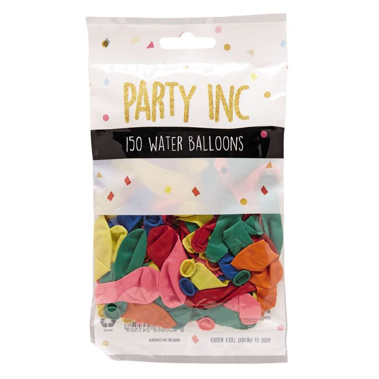 Party Inc Water Balloons 150 Pack, , hi-res