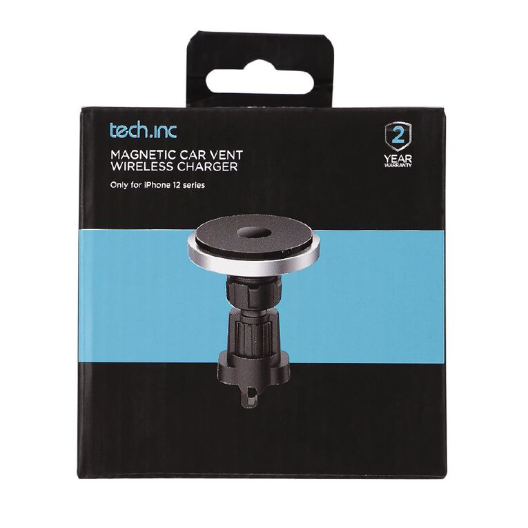 Tech.Inc Magnetic Car Vent Wireless Charger, , hi-res