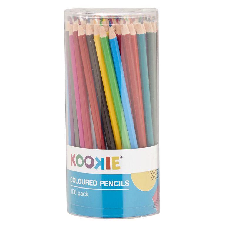 Kookie Coloured Pencils 100 Pack, , hi-res