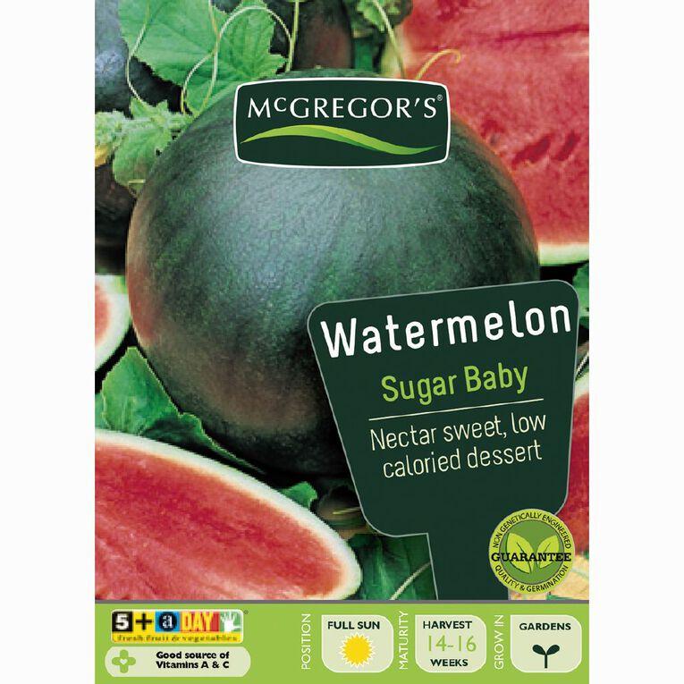 McGregor's Baby Sugar Watermelon Seeds, , hi-res