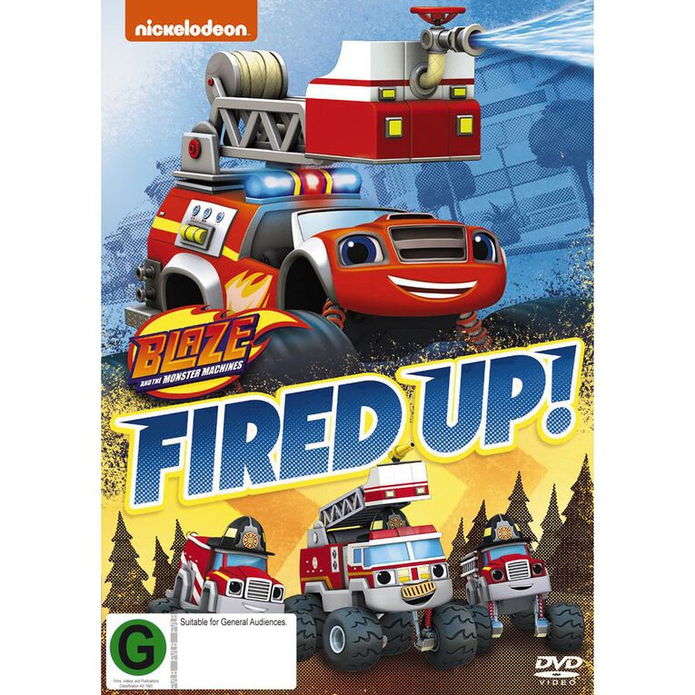 Blaze & The Monster Machines Fired Up DVD 1Disc, , hi-res