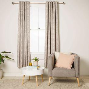 Living & Co Milford Eyelet Curtain Natural