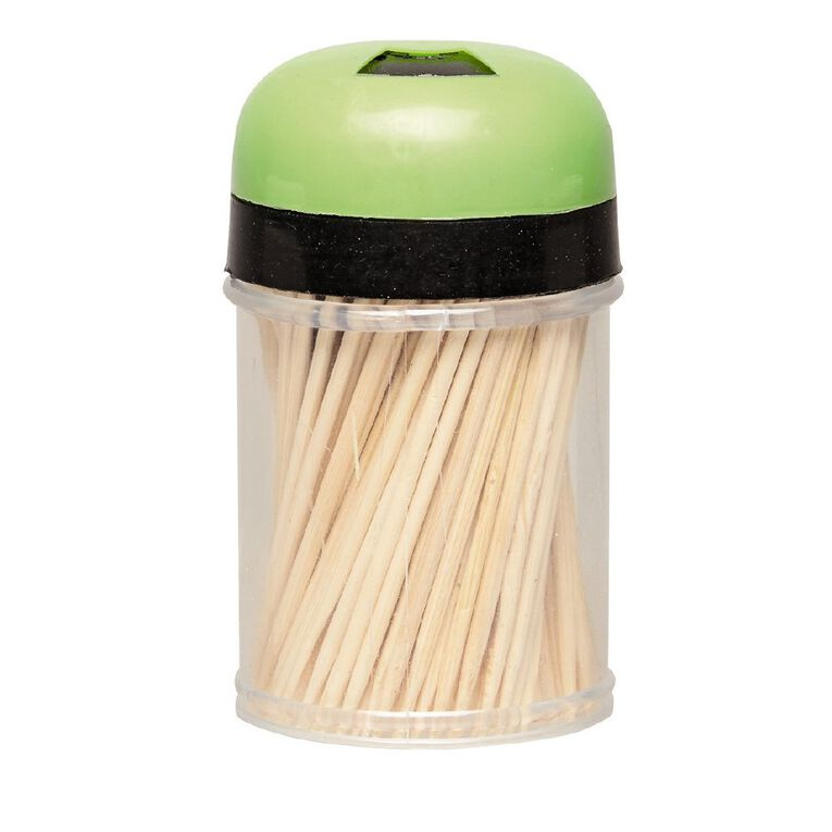 Living & Co Toothpicks Bamboo 180 Pack, , hi-res