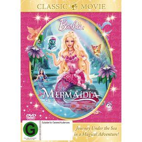 Barbie Mermaidia DVD 1Disc